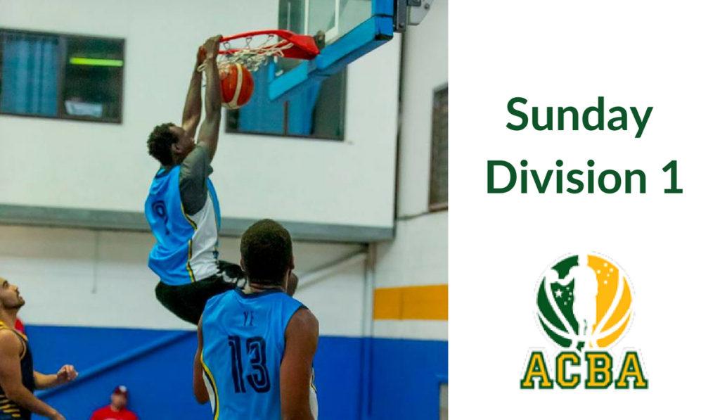 Sunday Division 1