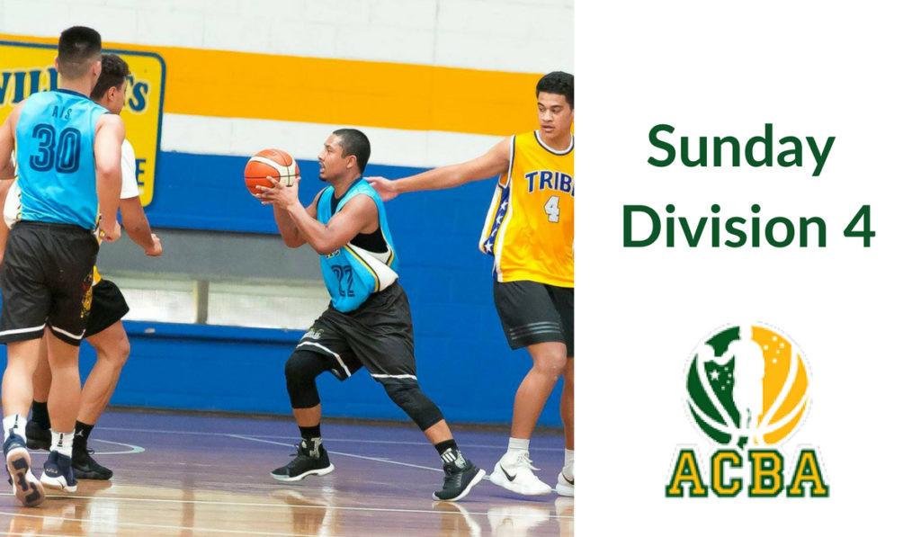 Sunday Division 4