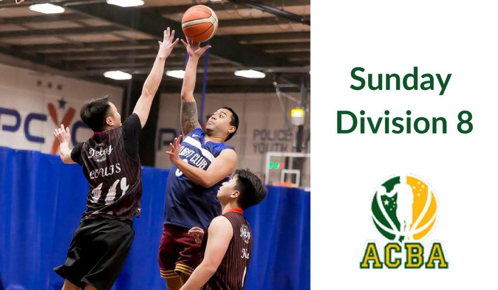 Sunday Division 8
