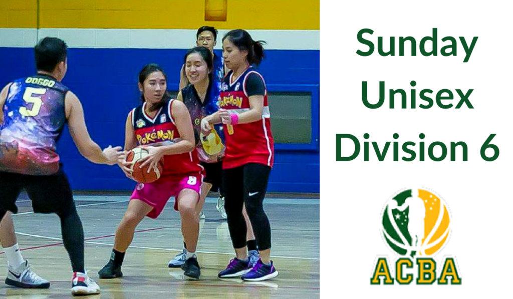 Sunday Unisex Division 6