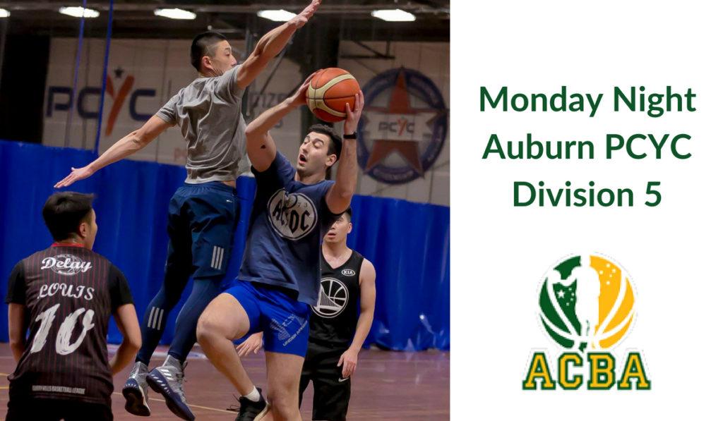 Monday Night Auburn PCYC Division 5