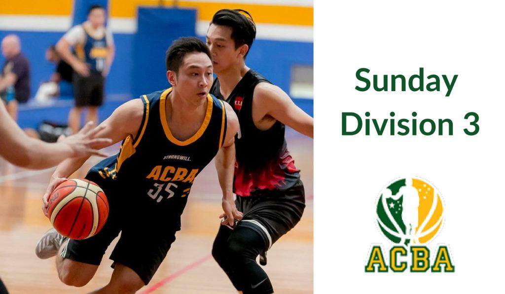 Sunday Division 3