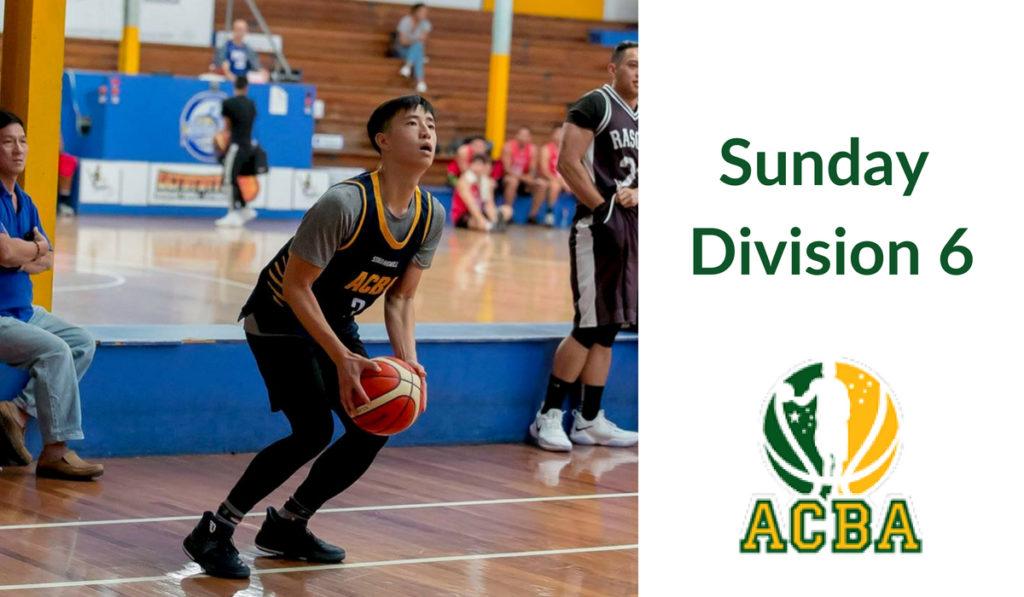 Sunday Division 6